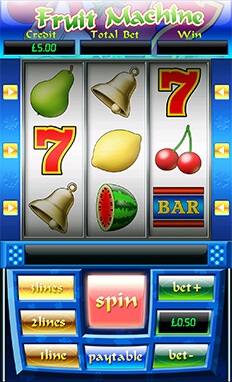 mFortune Fruit Machine Screenshot 1