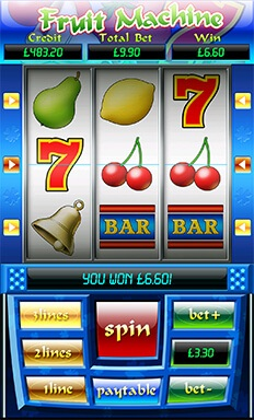 mFortune Fruit Machine Screenshot 2