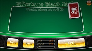 mFortune Blackjack Screenshot 1