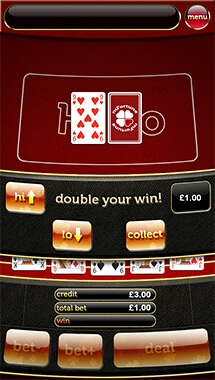 mFortune Hi-Lo Poker Screenshot 3