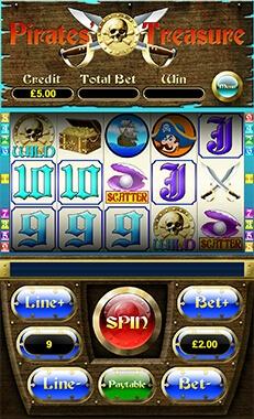 mFortune Pirates Treasure Screenshot 1