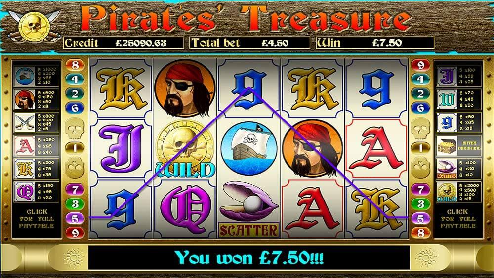 mFortune Pirates Treasure Screenshot 3