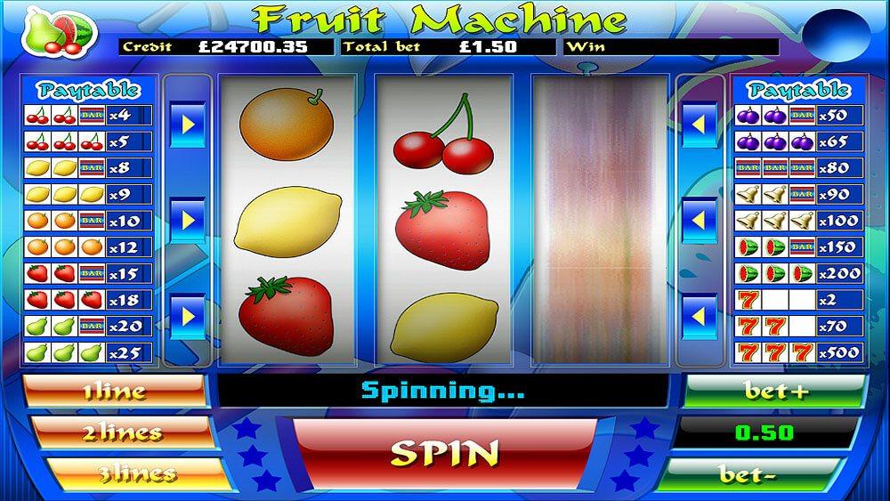 mFortune Fruit Machine Screenshot 1