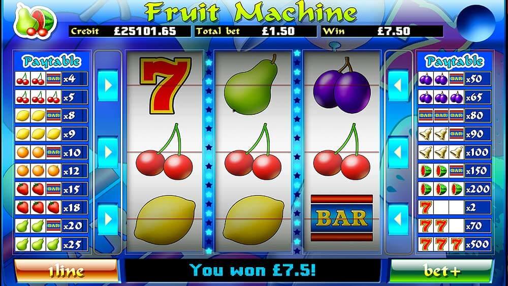 mFortune Fruit Machine Screenshot 2