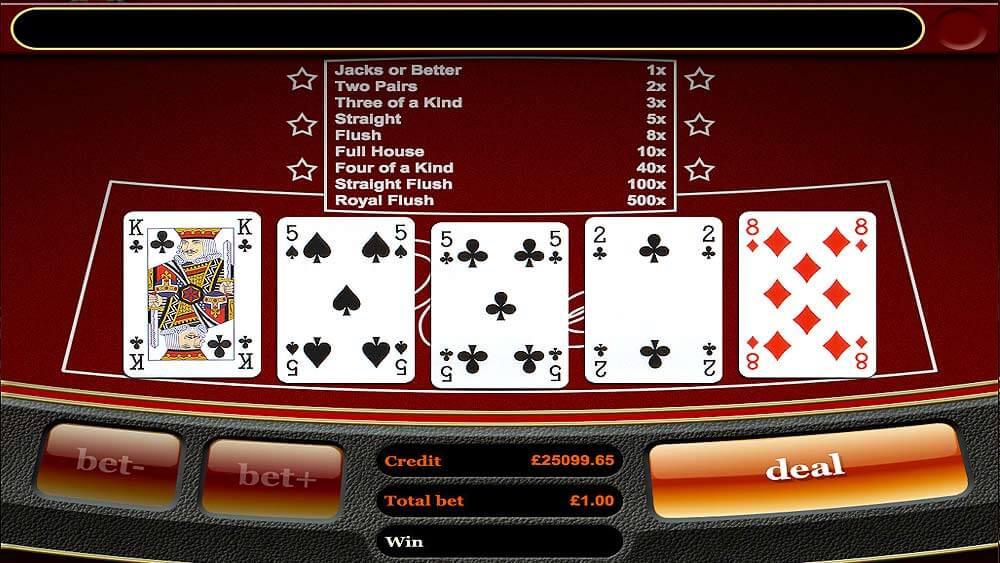 mFortune Hi-Lo Poker Screenshot 2