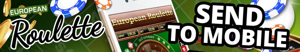 Send European Roulette to your mobile