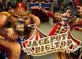 Jackpot Big Top 50 free spins