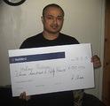 Hafizur R won £ 1,150