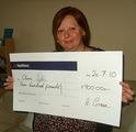 Claire T won £ 900