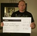 Dean E won £ 800