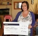 Lauren C won £ 700