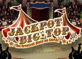Jackpot Big Top 50 free spins