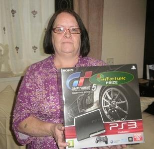 Yvonne G won £ 0