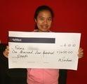 Fatima A won £ 1,400