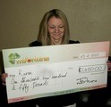 Karen J won £ 1,450
