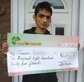 Jeevan A won £ 2,845