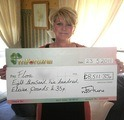 Flora B won £ 8,511