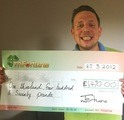 Anthony F won £ 1,470