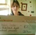 Jemma S won £ 1,800