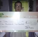 Jake S won £ 1,400