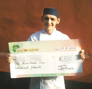 Lee H won £ 1,500