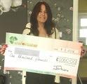 Sabrina T won £ 1,000