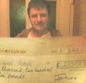 Samuel G won £ 1,210