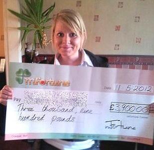 Emma L won £ 3,900