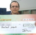Scott G won £ 1,000