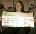 Lisa M won £ 2,600