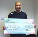 Peter O won £ 1,200