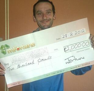 Andrew M won £ 2,000