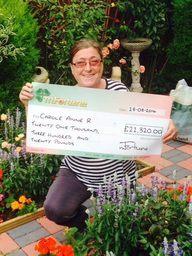 Carol R won £ 21,320