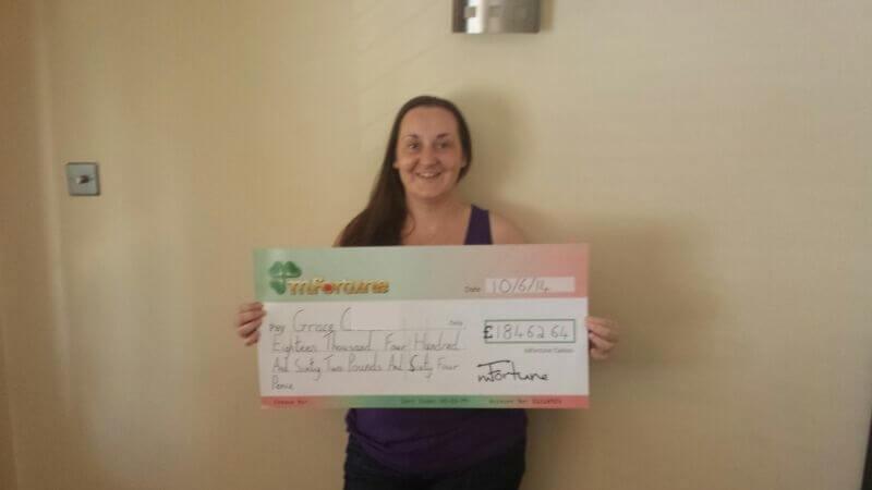 Grace C won £ 18,462