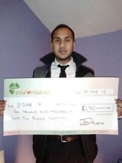 Iftihar A won £ 1,962