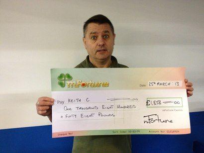 Keith C won £ 1,858