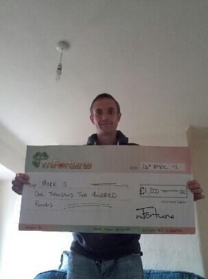 Mark S won £ 1,200