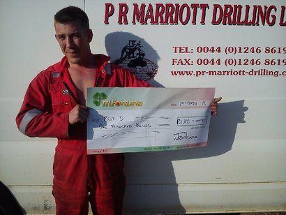 Matt D won £ 1,000