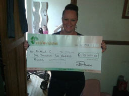 Michelle C won £ 1,200