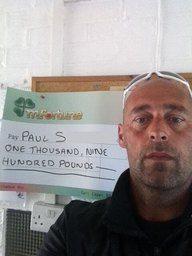 Paul S won £ 1,900