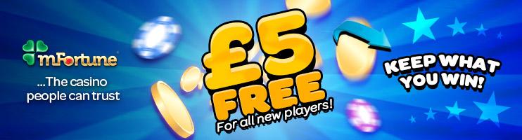 £5 Bonus