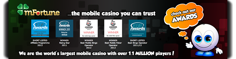 mFortune ...the mobile casino you can trust.